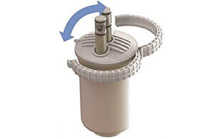 changing a whole house water filter